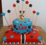 Mickey and Mini Cake